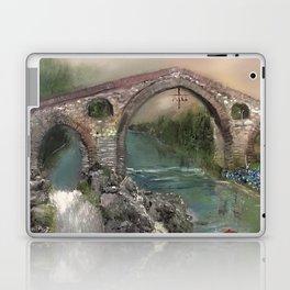 The Roman Bridge, Asturias  Laptop & iPad Skin