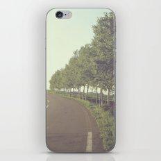 roadside trees iPhone & iPod Skin