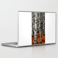 birch Laptop & iPad Skins featuring Birch by LeahOwen
