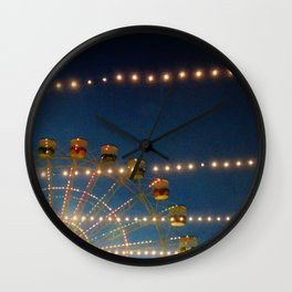 Luna Lights Wall Clock
