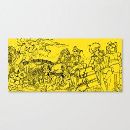 CREEPS ASSEMBLE! Canvas Print