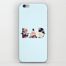 B∆D   Floral iPhone & iPod Skin