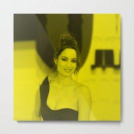 Berenice Marlohe - Celebrity Metal Print
