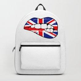 United Kingdom Lips Backpack