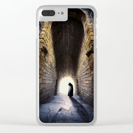Dark Shadow Clear iPhone Case