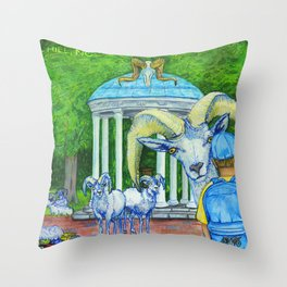 Locals Only  - Chapel Hill, NC Throw Pillow