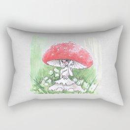 Empire of Mushrooms: Amanita Muscaria Rectangular Pillow