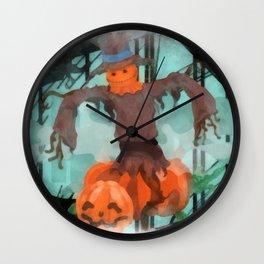 scarecrow Wall Clock