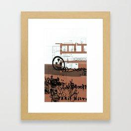copper series 1 Framed Art Print
