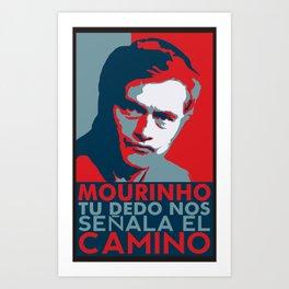 Mourinho Spain T-Shirt Art Print