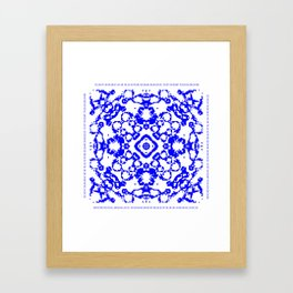CA Fantasy Blue series #9 Framed Art Print