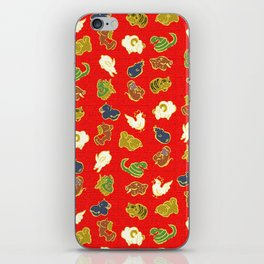 Animal pattern iPhone Skin