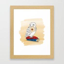 Hedwig's Delivery Framed Art Print