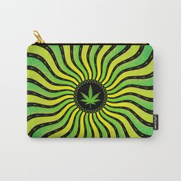 Marijuana energy | Sacred geometry mandala Carry-All Pouch
