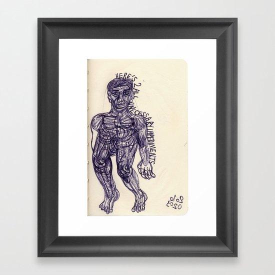 20100203 Framed Art Print