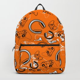 Gamers-Orange Backpack
