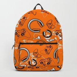 Gamers-Orange Backpack