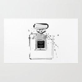 Black Perfume Rug