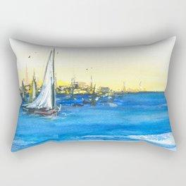 Spain Mediterranean sea Rectangular Pillow