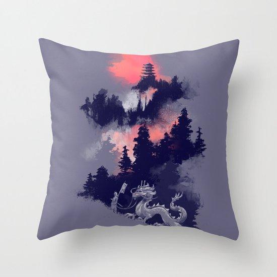 Samurai's life Throw Pillow