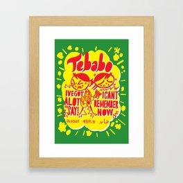 Tebabo 2 Framed Art Print