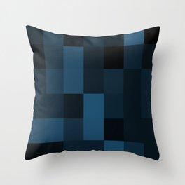 Midnight  Blue Design Throw Pillow