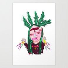 aHHHHHH #2 Art Print