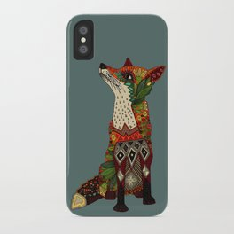 fox love iPhone Case