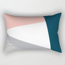 Modern geometry 2 Rectangular Pillow