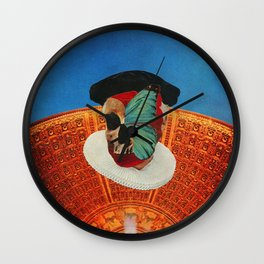 Rapture Masque Wall Clock