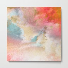 Magic Sky - Geo Candy Metal Print