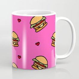 Burger and heart Coffee Mug