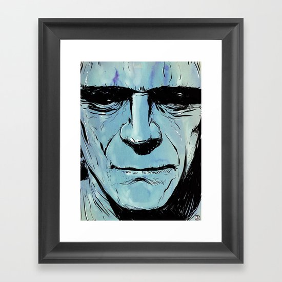 Frankenstein Framed Art Print