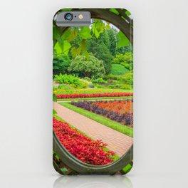 Secret Garden Print iPhone Case