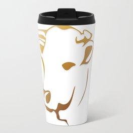 Cow logo Travel Mug