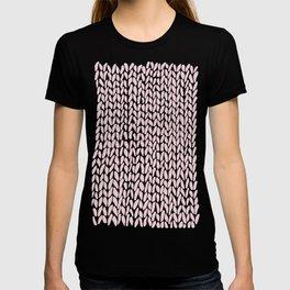 Hand Knit Bubblegum T-shirt