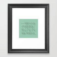 #53 Writings – Geometry Daily Framed Art Print