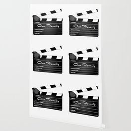 Our Family Clapperboard Wallpaper