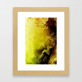 Secret Ivy Framed Art Print