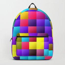 Pixel dance floor. Backpack