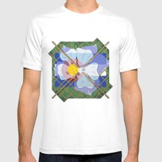 Altered State Flower: CO White MEDIUM Mens Fitted Tee