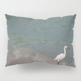 Ibis Waves - Sanibel Island, Florida Pillow Sham