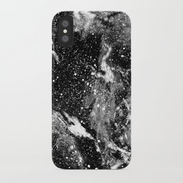 Galaxy (B/W) iPhone Case