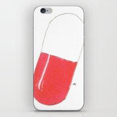a pill iPhone & iPod Skin