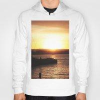 san diego Hoodies featuring San Diego Sunset by Tdrisk46