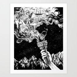 Gift of Fire Art Print