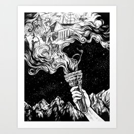 Gift of Fire Art Print