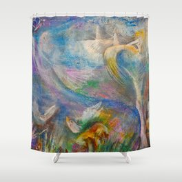 Fairy Fantasy Shower Curtain