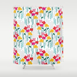 jubilee floral print Shower Curtain