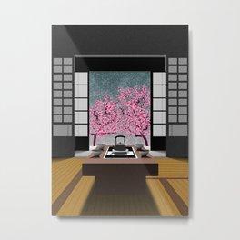 JAPANESE ROOM Metal Print